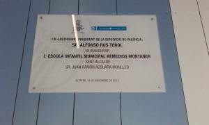 placa Alfonso Rus